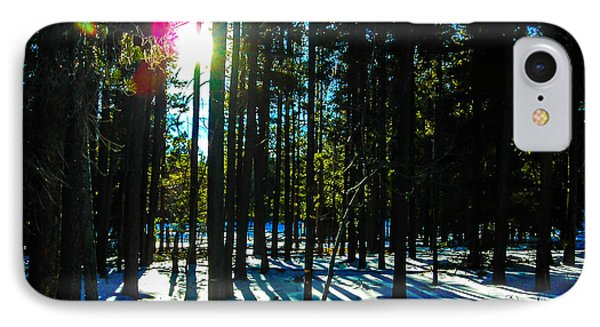 IPhone Case featuring the photograph Through The Trees by Shannon Harrington