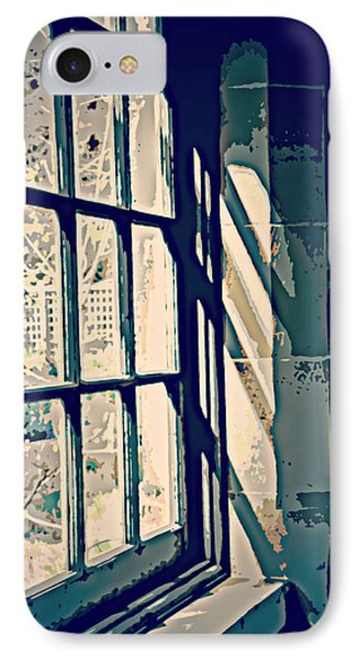 IPhone Case featuring the photograph View Through The Window - Painterly Effect by Marilyn Wilson