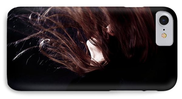 Throwing Hair Phone Case by Joana Kruse