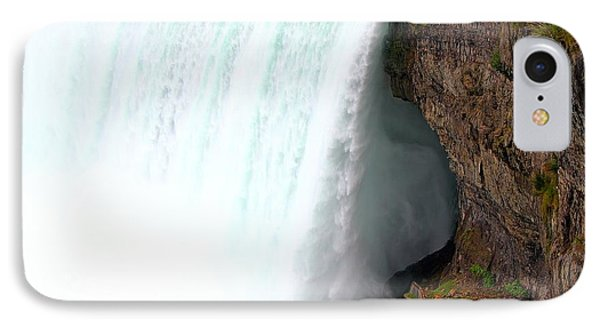 IPhone Case featuring the photograph Thundering Force by Davandra Cribbie