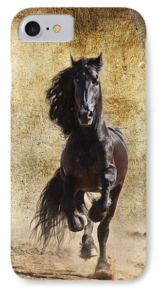 Thundering Stallion D6574 Phone Case by Wes and Dotty Weber