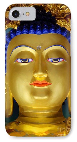 Tibetan Bhudda 3 Phone Case by Bob Christopher
