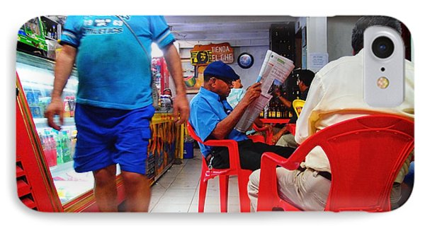 Tienda El Che Phone Case by Skip Hunt