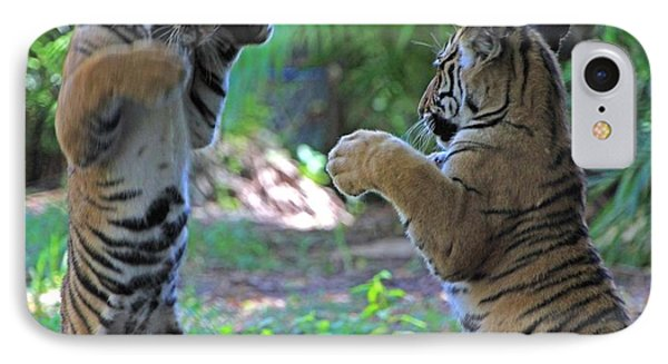 Tiger Cubs Boxing IPhone Case