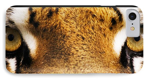 Tiger Eyes Phone Case by Sumit Mehndiratta