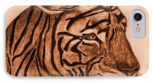 Tiger IIi Phone Case by Debbie Portwood