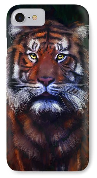 Tiger Tiger Phone Case by Michelle Wrighton