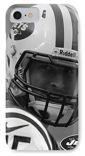 Tim Tebow - Black And White - New York Jets Florida Gators - Timothy Richard Tebow IPhone Case