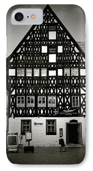 Timber-frame House Weimar Phone Case by Christine Till
