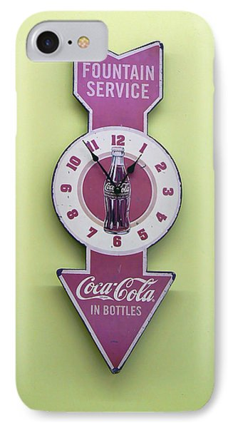 Time For Coke Phone Case by Pamela Patch