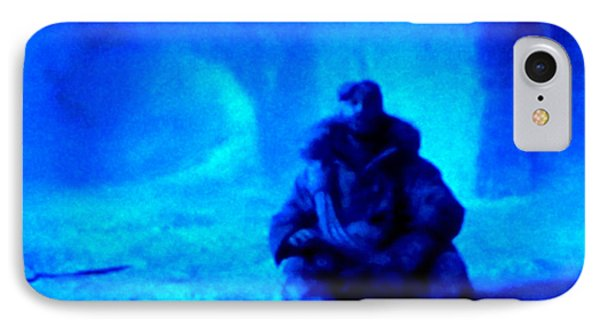 Time Stopped In A Huge Snow Ice  Grotte Phone Case by Colette V Hera  Guggenheim