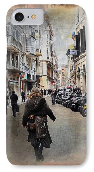 Time Warp In Malaga Phone Case by Mary Machare