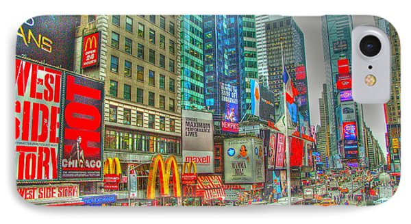 Times Square One Phone Case by Alberta Brown Buller