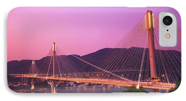 Ting Kau Bridge IPhone Case by MotHaiBaPhoto Prints