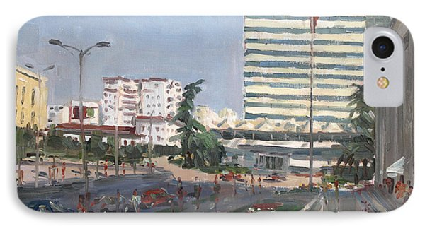 Tirana IPhone Case by Ylli Haruni