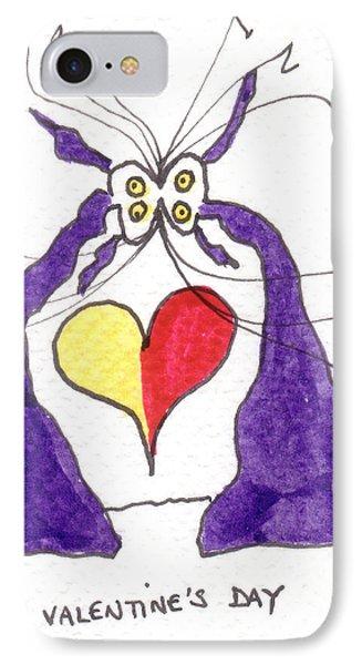 Tis Valentine's Day Phone Case by Tis Art