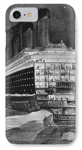 Titanic: Shipwreck, 1912 Phone Case by Granger