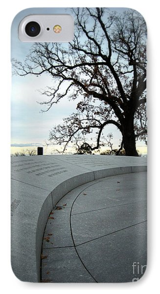 IPhone Case featuring the photograph To A New Generation II by Nancy Dole McGuigan