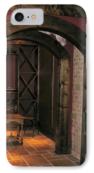 To The Wine Cellar IPhone Case by Renee Trenholm