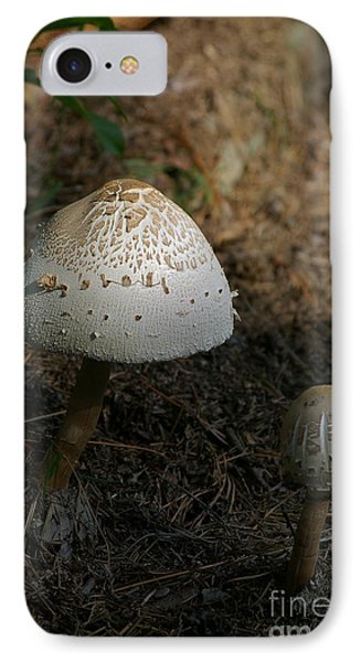 IPhone Case featuring the photograph Toadstool by Tannis  Baldwin