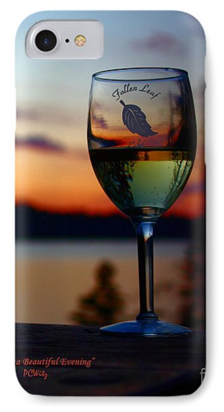 Toasting A Beautiful Evening Phone Case by Patrick Witz