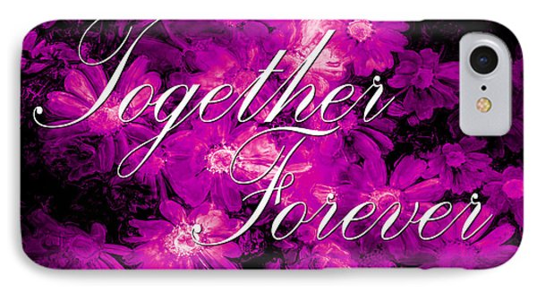 Together Forever Phone Case by Phill Petrovic