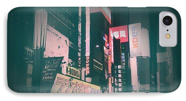 Tokyo Lights IPhone Case by Naxart Studio