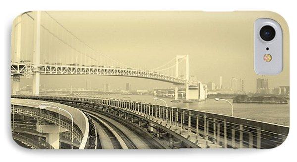 Tokyo Metro Ride Phone Case by Naxart Studio