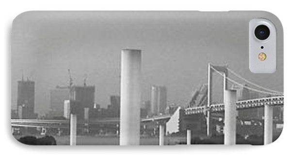 Tokyo Panorama IPhone Case by Naxart Studio