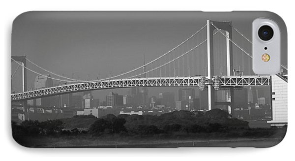 Tokyo Rainbow Bridge IPhone 7 Case by Naxart Studio