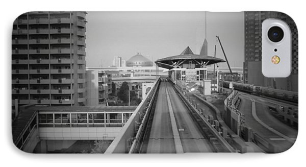 Tokyo Train Ride 1 IPhone Case by Naxart Studio