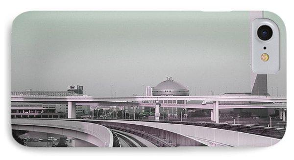 Tokyo Train Ride 2 IPhone Case by Naxart Studio