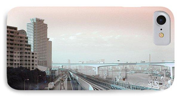 Tokyo Train Ride 3 IPhone Case by Naxart Studio