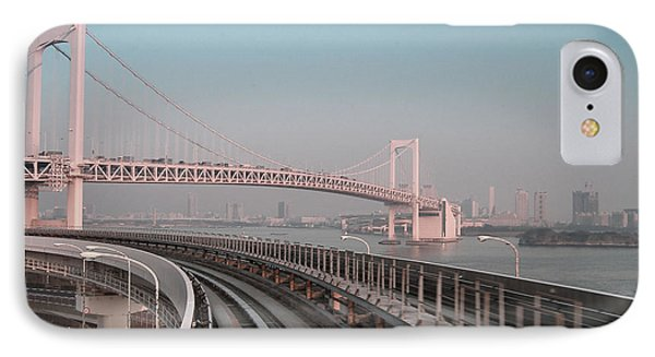 Tokyo Train Ride 4 IPhone Case by Naxart Studio