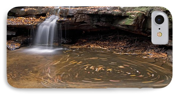 Tolliver Falls IPhone Case by Jeannette Hunt