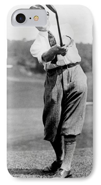 Tom Armour Wins Us Golf Title - C 1927 Phone Case by International  Images