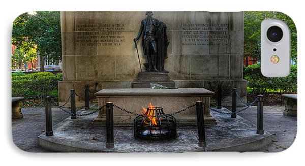 Tomb Of The Unknown Revolutionary War Soldier II - George Washington  Phone Case by Lee Dos Santos