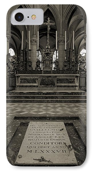 Tomb Of William The Conqueror Phone Case by RicardMN Photography