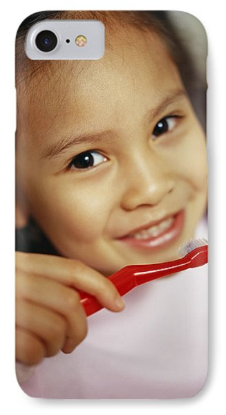 Toothbrushing Phone Case by Ian Boddy
