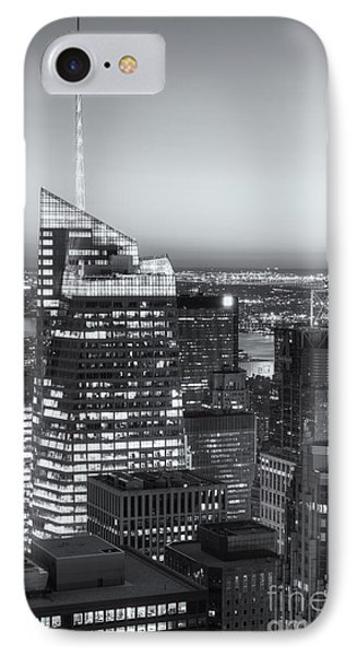 Top Of The Rock Twilight Vii Phone Case by Clarence Holmes