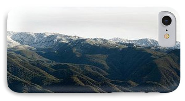 Topa Topa With Snow IPhone Case by Henrik Lehnerer