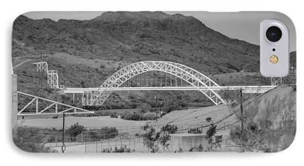 Topock Bridge Phone Case by Ricky Barnard