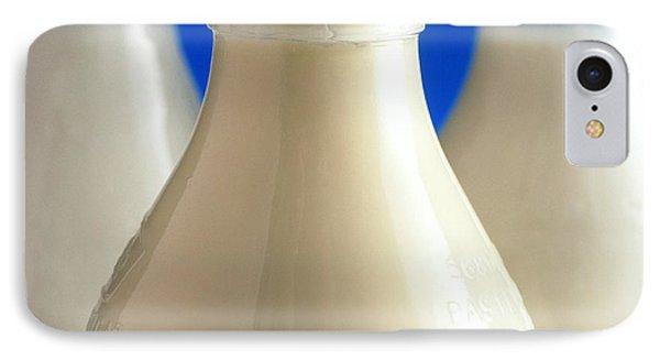 Tops Of Three Types Of Bottled Milk Phone Case by Steve Horrell
