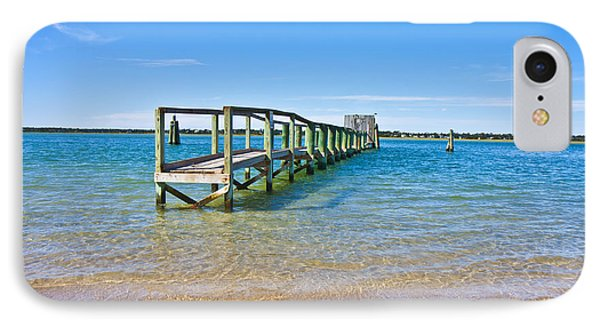 Topsail Island Sound Phone Case by Betsy Knapp