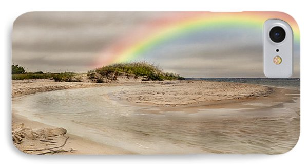 Topsail Rainbow Phone Case by Betsy Knapp