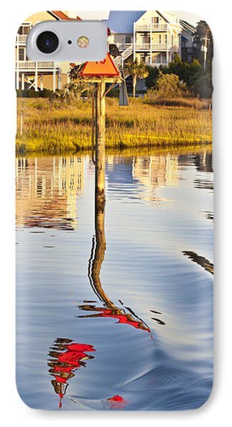 Topsail Sound Sunset Phone Case by Betsy Knapp