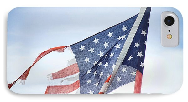 Torn American Flag Phone Case by James BO  Insogna