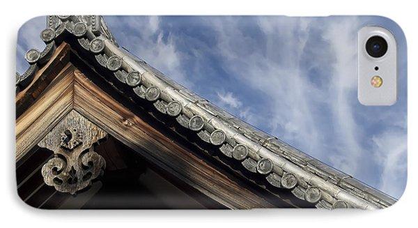 Toshodai-ji Temple Roof Gargoyle - Nara Japan Phone Case by Daniel Hagerman