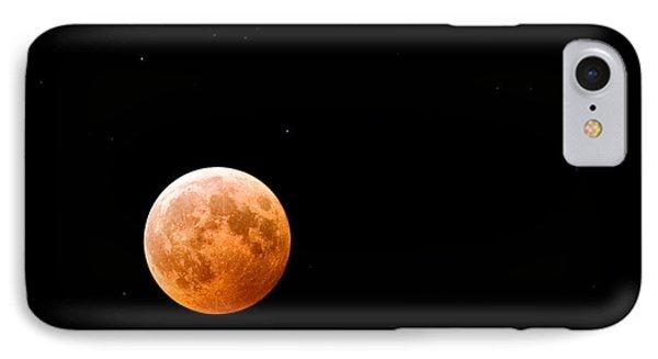 Total Lunar Eclipse Phone Case by Matt Suess
