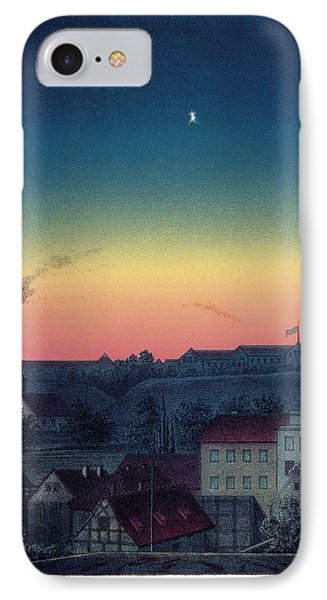 Total Solar Eclipse, 1851 Artwork Phone Case by Detlev Van Ravenswaay